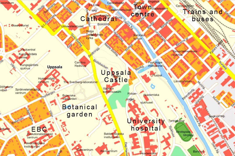 Hitta Till Ebc Uppsala Universitet